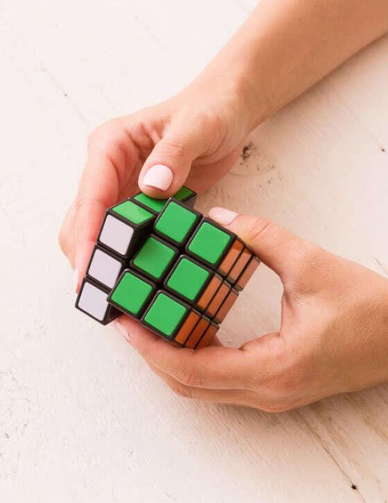 Почему стоит попробовать кубик Рубика